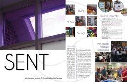 Sent Magazine Page Layout Samples (Adobe InDesign)