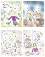 Children's Book Illustration Samples