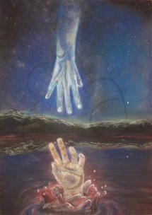 Fingering (Chalk Pastel Painting)
