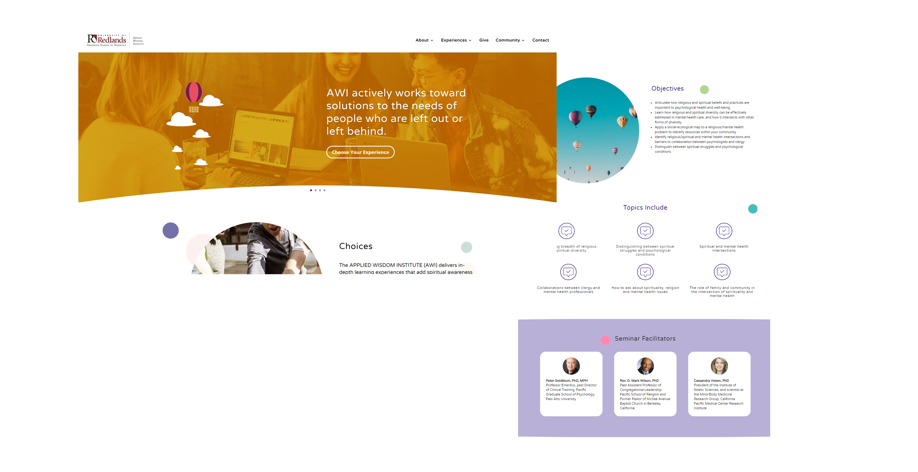 home-page-design-circular-elements